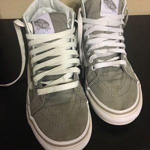 Vans sk8-hi grey shoes
